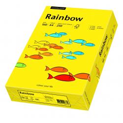 Papier kolorowy Rainbow A4 160g/250ark., nr 18 - żółty ciemny