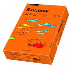 Papier kolorowy Rainbow A4 160g/250ark., nr 26 - pomarańczowy ciemny