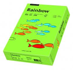 Papier kolorowy Rainbow A4 160g/250ark., nr 76 - zielony