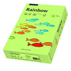 Papier kolorowy Rainbow A4 160g/250ark., nr 74 - zielony jasny
