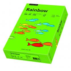 Papier kolorowy Rainbow A4 160g/250ark., nr 78 - zielony ciemny