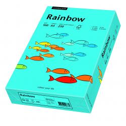Papier kolorowy Rainbow A4 160g/250ark., nr 87 - niebieski
