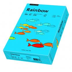 Papier kolorowy Rainbow A4 160g/250ark., nr 88 - niebieski ciemny