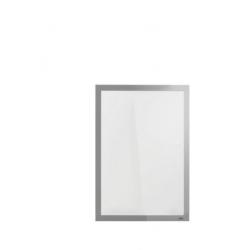 Ramka magnetyczna samoprzylegająca Duraframe Poster Sun A2 - srebrna / 1 szt.
