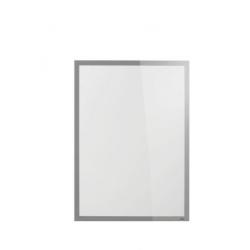 Ramka magnetyczna samoprzylegająca Duraframe Poster Sun 50x70 cm - srebrna / 1 szt.