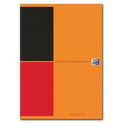 Brulion Oxford Notebook A4 w linie - pomarańczowy