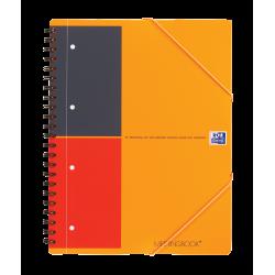 Kołonotatnik Oxford Meetingbook A4+ w linie - pomarańczowy