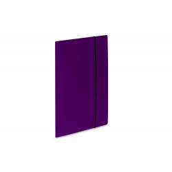 Teczka kartonowa z gumką Vaupe Soft 1 - fioletowa