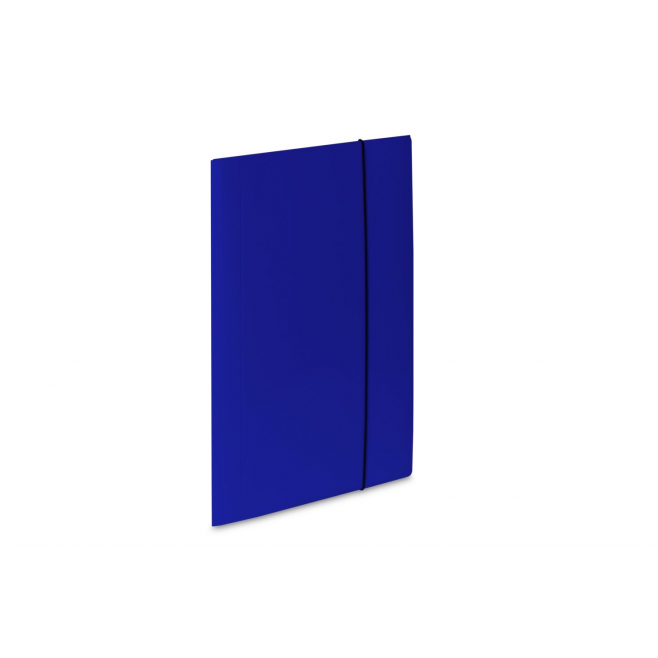Teczka kartonowa z gumką Vaupe Soft 1 - niebieska