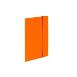 Teczka kartonowa z gumką Vaupe Soft 1 - pomarańczowa