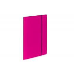 Teczka kartonowa z gumką Vaupe Soft 1 - różowa