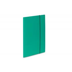 Teczka kartonowa z gumką Vaupe Soft 1 - turkusowa