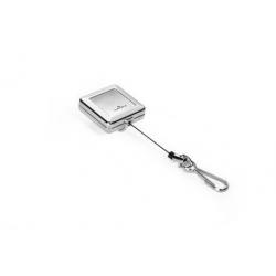 Mechanizm ściągający Jojo Chrome Quadro - srebrny  / 1 szt.