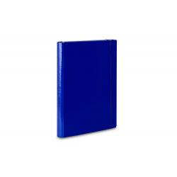 Teczka skrzydłowa z gumką Vaupe 310 - niebieska