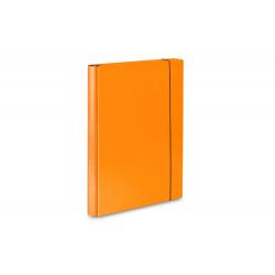 Teczka skrzydłowa z gumką Vaupe 310 - pomarańczowa
