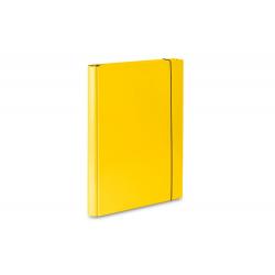 Teczka skrzydłowa z gumką Vaupe 310 - żółta