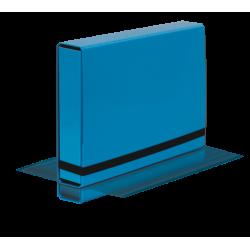 Teczka z gumką Vaupe Box Caribic 341 - jasnoniebieska