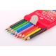 Kredki GRIP 2001 z gumką - 10 kolorów