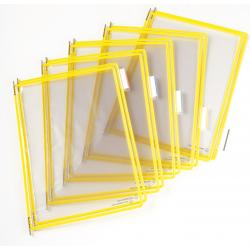 Panel prezentacyjny Tarifold A4 - kolor żółty