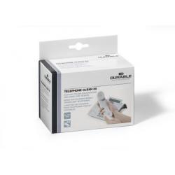 Ściereczki nawilżone pojedynczo zapakowane Telephone Clean 50 - białe / 1 op.