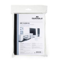 Suche ściereczki Dry Clean 50 - białe / 1 op.