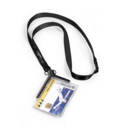 Etui do kart identyfikacyjnych Card Holder De Luxe - szare / 10 szt.