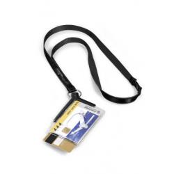 Etui do kart identyfikacyjnych Card Holder De Luxe Duo - szare / 10 szt.