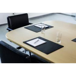 Podkład na biurko do sal konferencyjnych Durable - czarny / 1 szt.