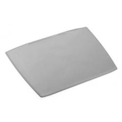 Podkład na biurko w kształcie trapezu - jasnoszary / 1 szt.