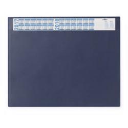 Podkład na biurko z kalendarzem Durable - granatowy / 1 szt.