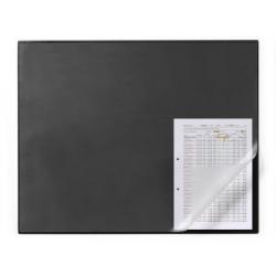 Podkład na biurko z zabezpieczeniem krawędzi - czarny / 1 szt.