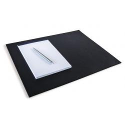 Podkład na biurko ze skóry naturalnej Durable - czarny / 1 szt.