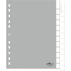 Przekładki A4 Durable 12 części -zielone / 1 kpl.