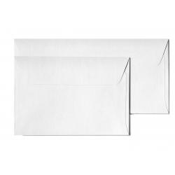 Koperta ozdobna Galeria Papieru Holland C6/10szt. - biała