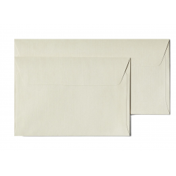 Koperta ozdobna Galeria Papieru Holland C6/10szt. - kremowa