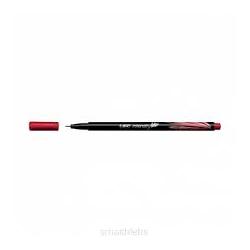 Cienkopis Bic intensity fine - czerwony