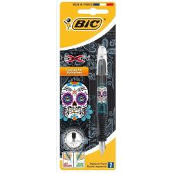Pióro wieczne Bic Pen Decors - Skull