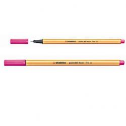 Cienkopis Stabilo Point 88/056 - różowy neonowy