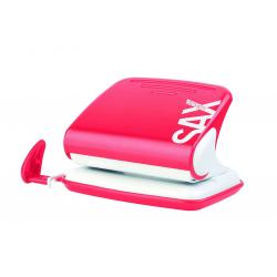 Dziurkacz SAX Design 318 - czerwony