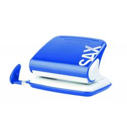 Dziurkacz SAX Design 318 - niebieski
