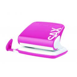 Dziurkacz SAX Design 318 - różowy