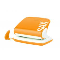 Dziurkacz SAX Design 318 - pomarańczowy