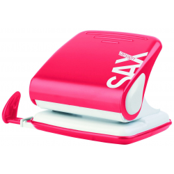 Dziurkacz SAX Design 418 - czerwony