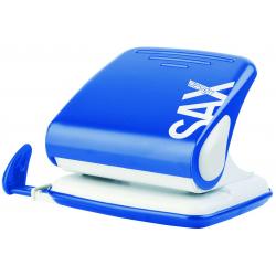 Dziurkacz SAX Design 418 - niebieski