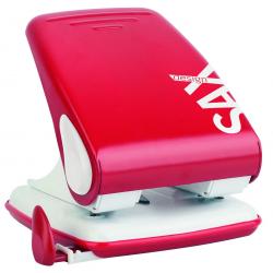 Dziurkacz SAX Design 518 - czerwony