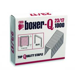 Zszywki ICO Boxer 23/17, 1000szt.