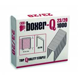 Zszywki ICO Boxer 1000szt. - 23/20
