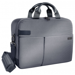 "Torba Leitz Complete Smart na laptopa 15,6"" - srebrno-szara"