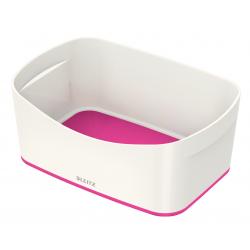 Pojemnik Leitz MyBox - biało-różowy