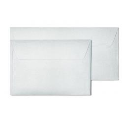 Koperta ozdobna Galeria Papieru Pearl C6/10szt. - srebrna